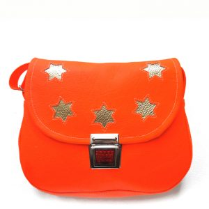Kindergartentasche neon orange