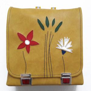 Rucksack für Schule gelb