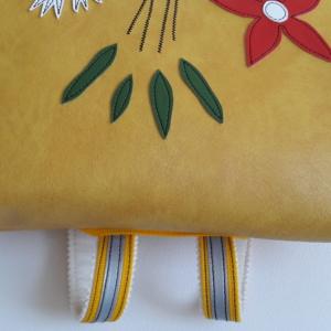 Rucksack gelb detail3