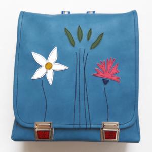 Rucksack für Schule hellblau