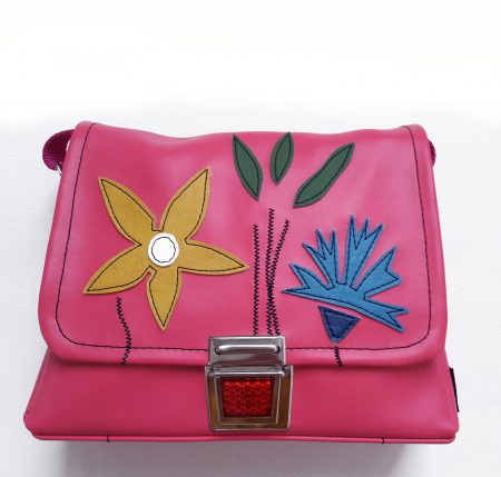 Kindergartentasche Blumen pink Medusa