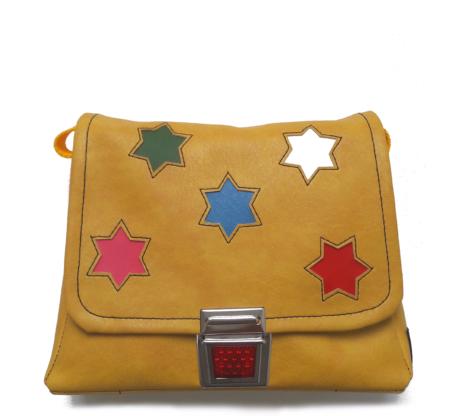 Kindergaretntasche Star gelb