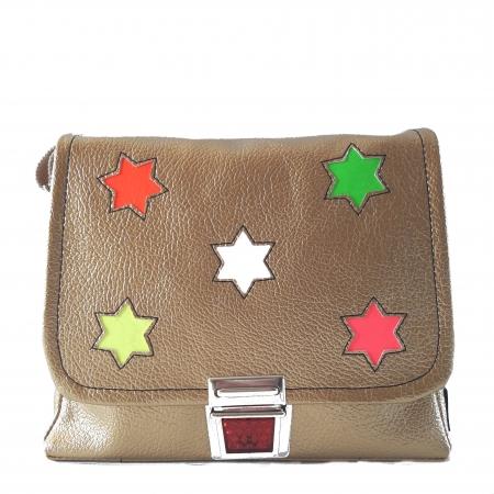 Kindergartentasche für Mädchen Girlsbag gold