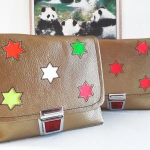 Tasche für Kinder Schultasche glitzertasche goldtasche