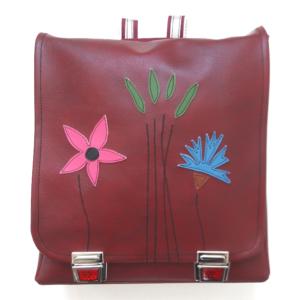 Schultaschen aus der Schweiz Medusa Design, Schulrucksack, Schultasche, Thek, Rucksack, Schultasche made in switzerland, Schultasche pink, Tasche mit Blumen, Schulmappe, Schulrucksack, swissmade schoolbag
