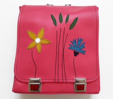 Rucksack für Schule pink, Schultasche