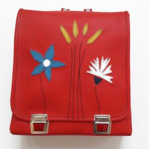 Rucksack für Schule rot